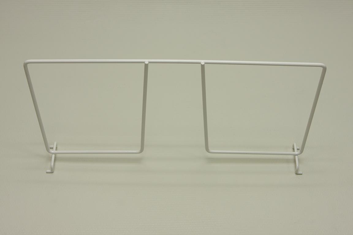 Разделитель проволочной полки 40 см, белый