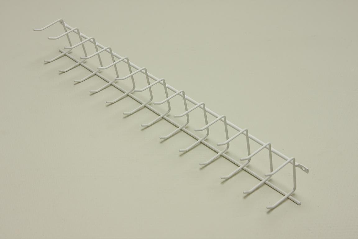 Вешалка для галстуков (стеллаж-стена) 44 см (Мини)