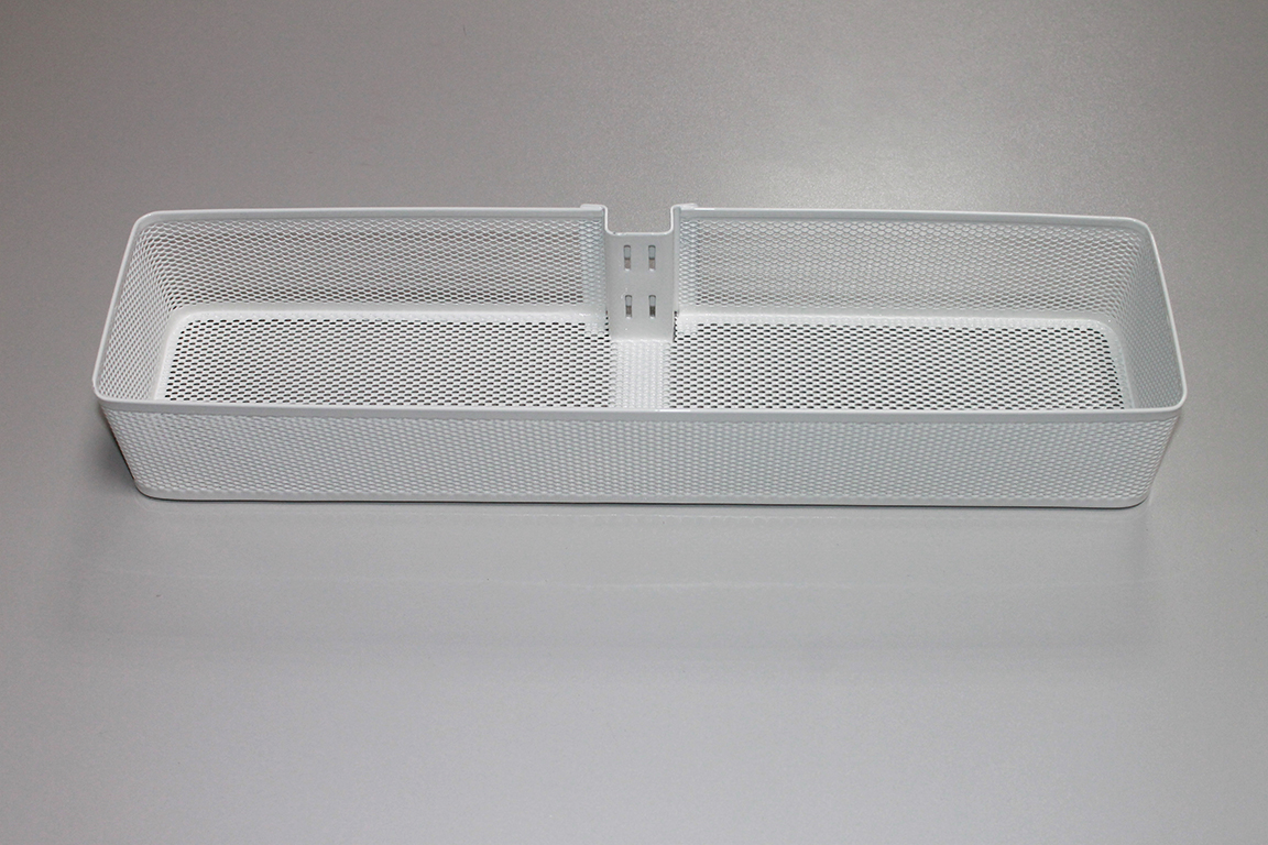 Средняя корзинка Mesh для направляющей, белый