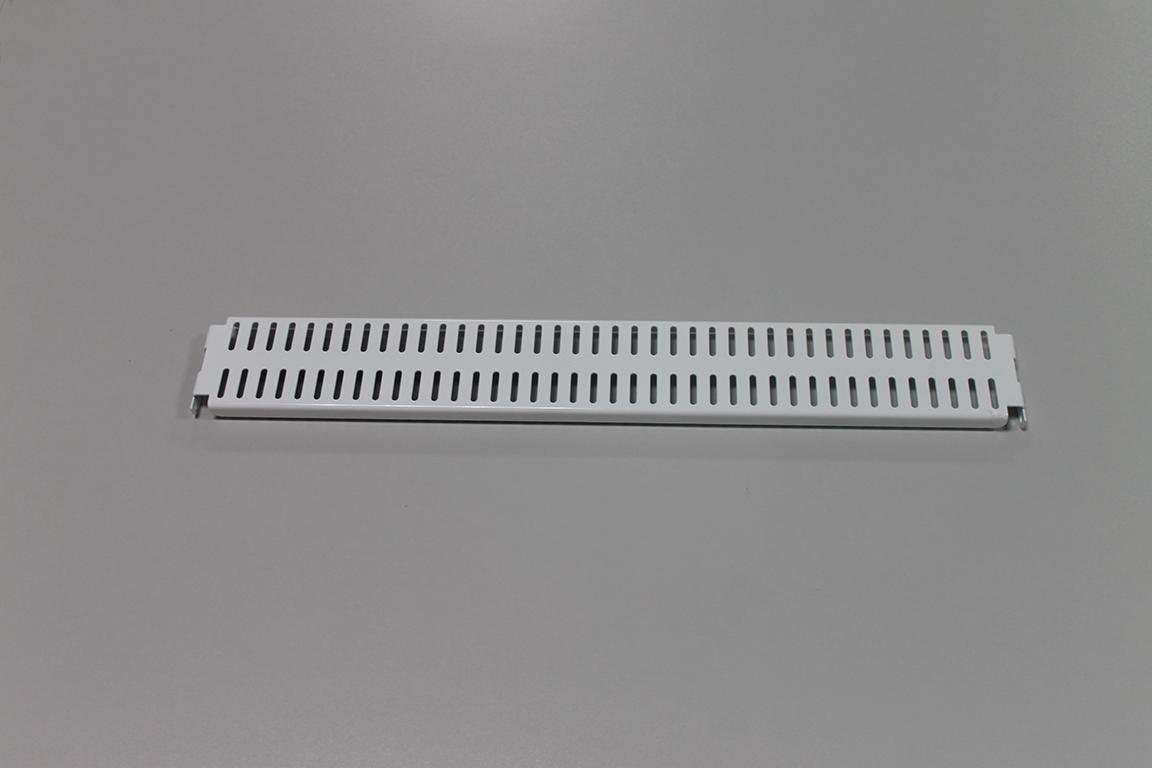 Перфорированная панель 45 x 6 см, белый
