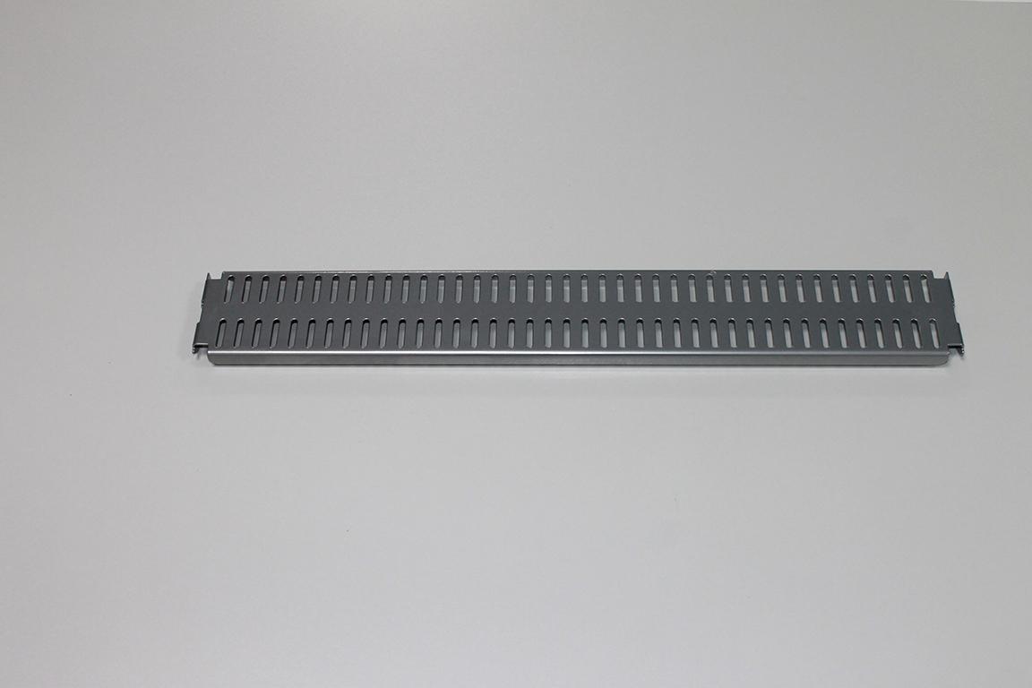 Перфорированная панель 45 x 6 см, платина