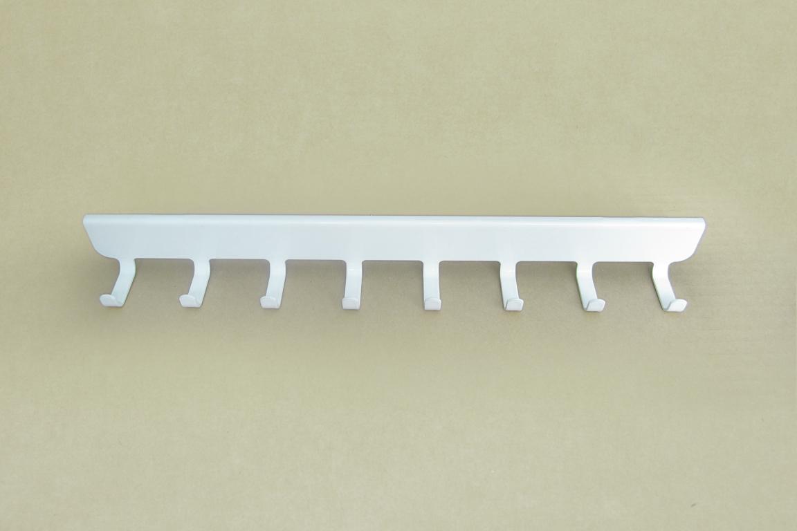 Боковые крючки (8) 30 см., белый