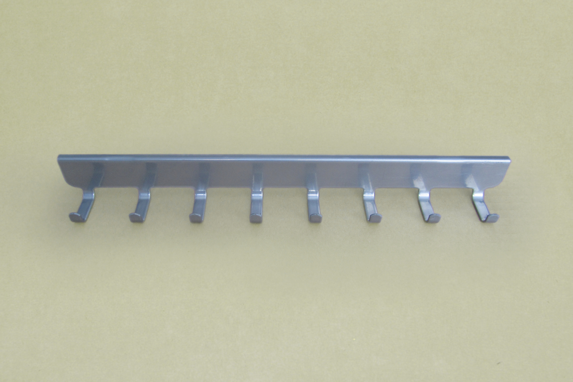 Боковые крючки (8) 30 см., платина