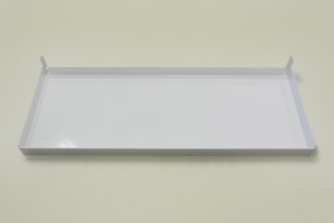 Лоток для перфорированной панели, белый
