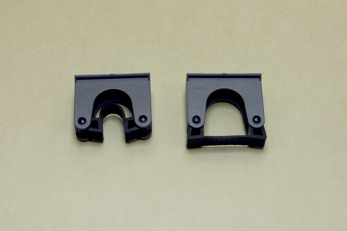 Большой держатель д/инструмента (рельс), 2шт/уп, серый