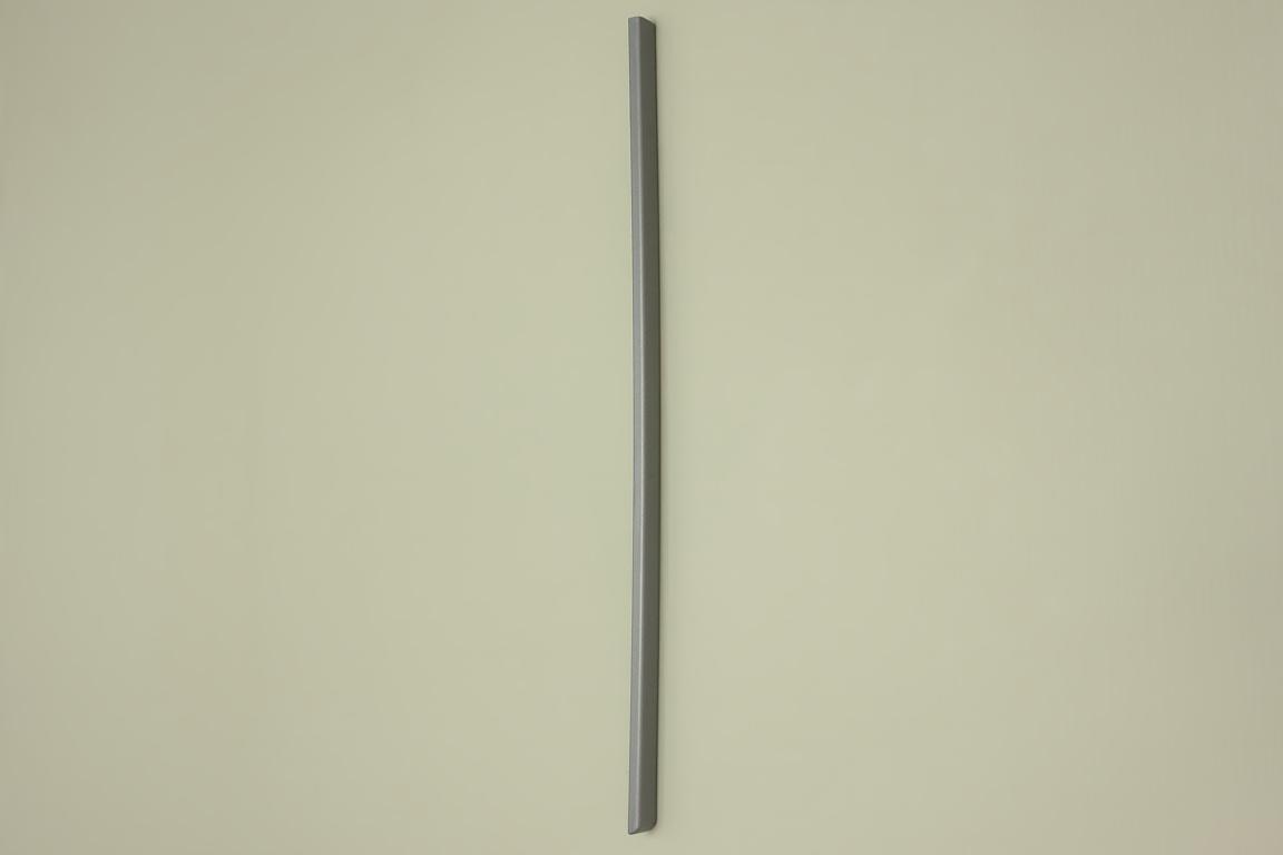 Заглушка декор. 42 см, правая, платина