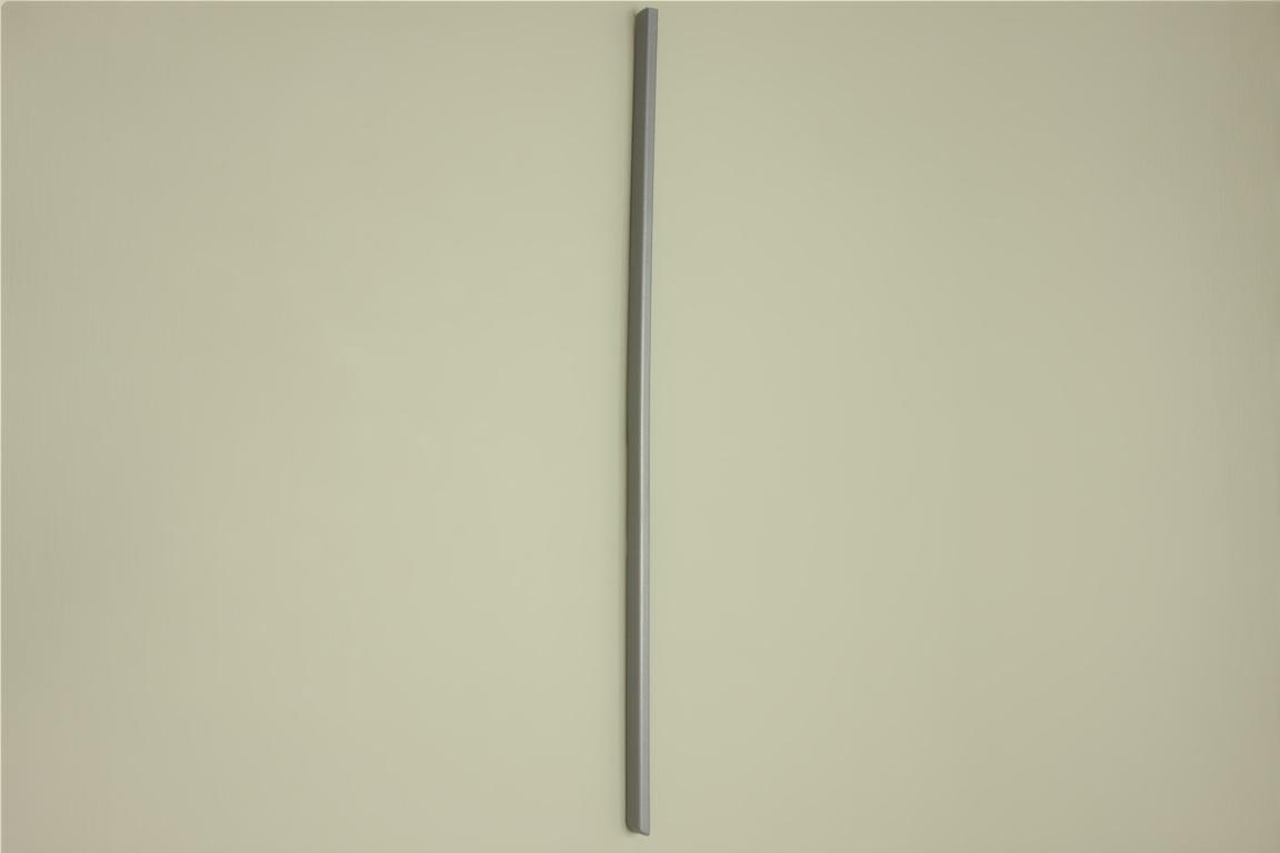 Заглушка декор. 51 см, левая, платина