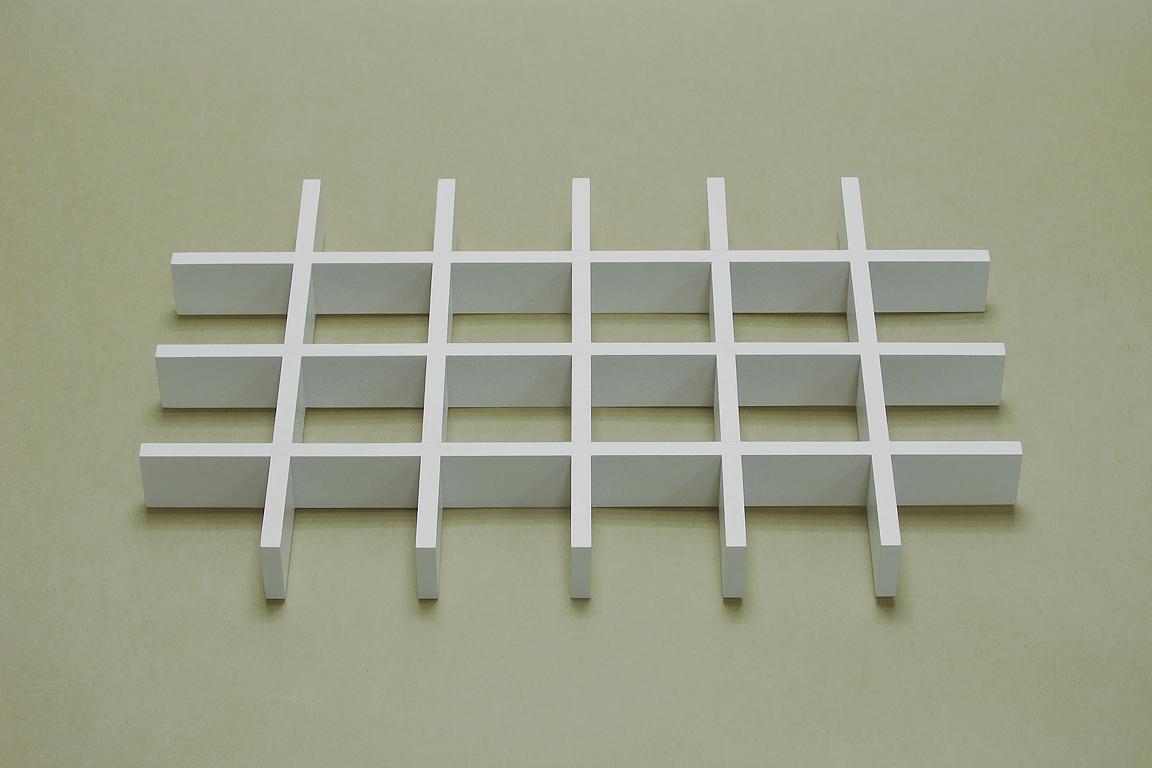 Разделитель ящика д/аксессуаров на 24 ячейки, бел