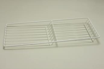 Полка решетчатая для бутылок/обуви, шир. 25 см, белый