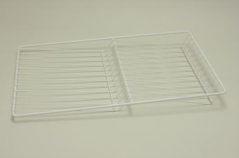 Полка решетчатая для бутылок/обуви, шир. 35 см, белый
