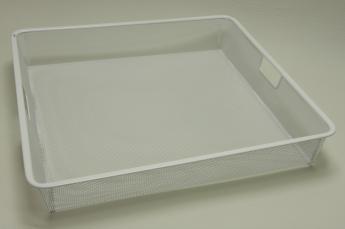 Корзина на 1 рельс, шир. 55 см, Mesh, белый