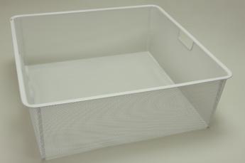 Корзина на 2 рельса, шир. 55 см, Mesh, белый