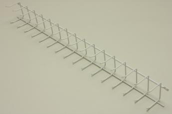Вешалка для галстуков (стеллаж-стена) 52 см