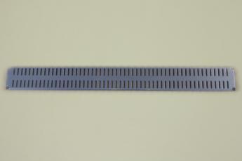 Перфорированная панель  60x6 см, платина