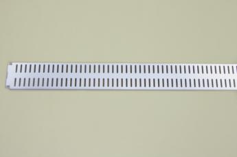 Перфорированная панель 90x6 см, белый